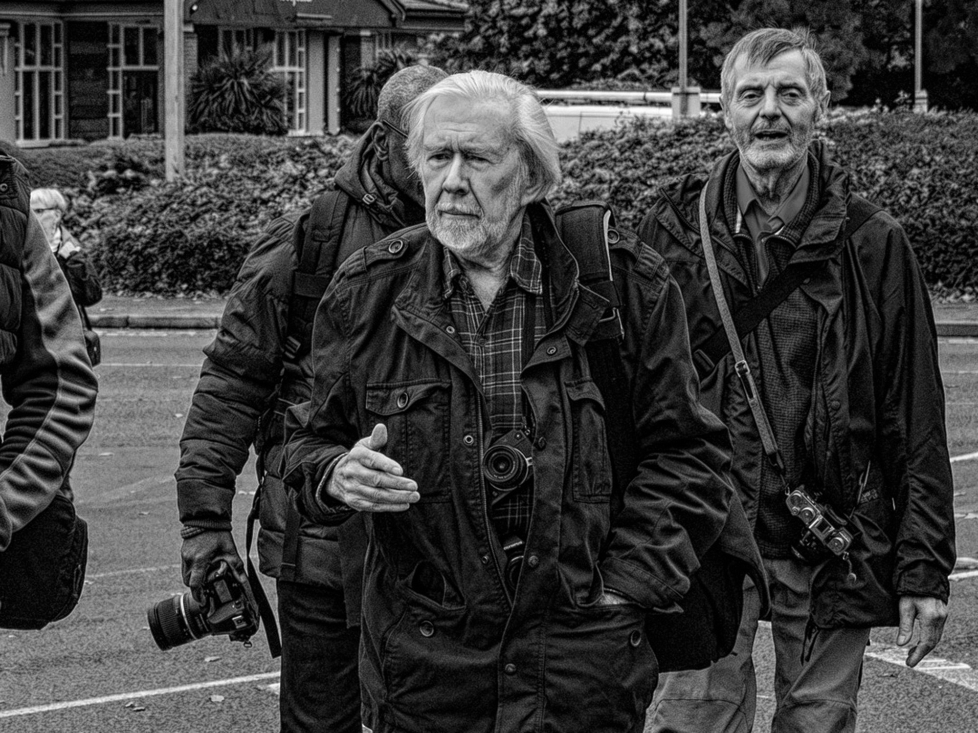 Learn how Magnum Photographer Ian Berry 'finds' his subjects ©Stewart Wall, 2019